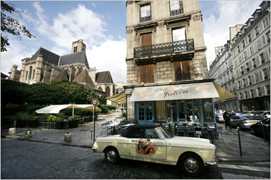 Great restaurant in Le Marais